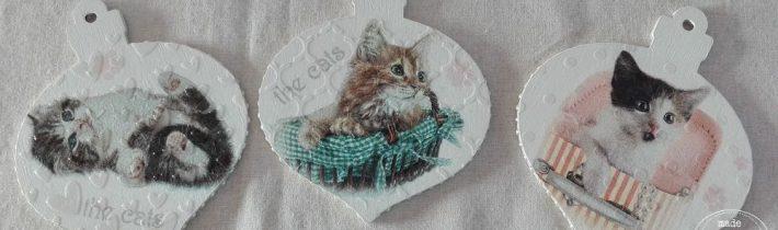 Zawieszki z kotami